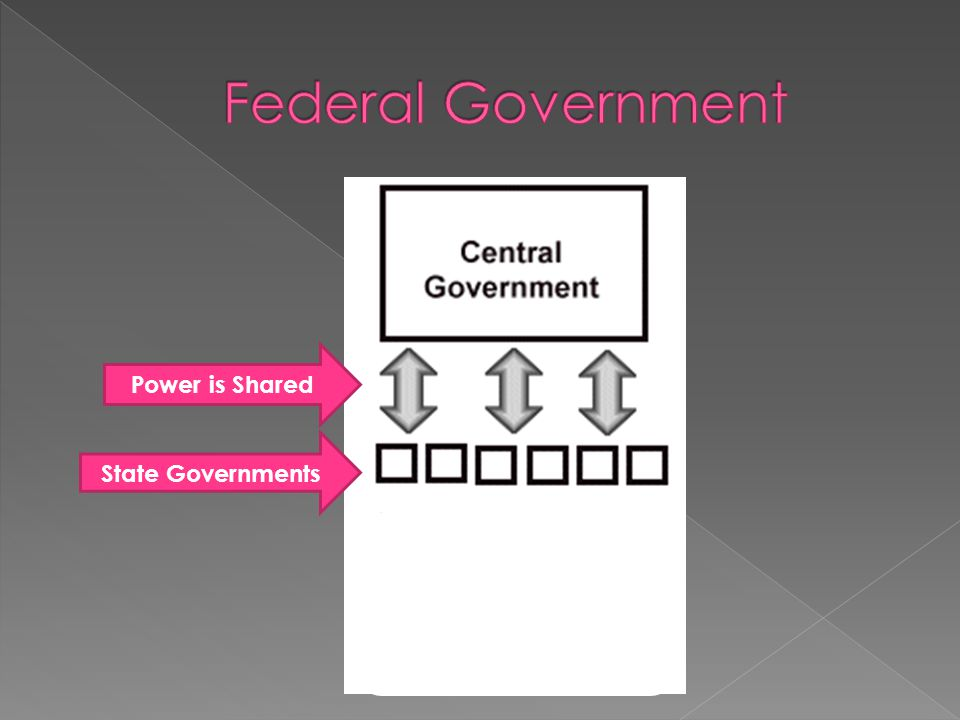 State Governments Power is Shared