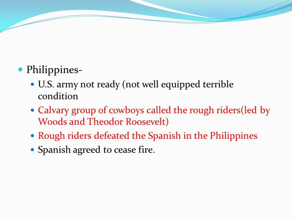 Philippines- U.S.