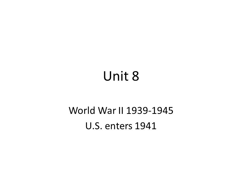 SSUSH 19 : The students will identify the origins, major developments, and the domestic impact of world War II, especially the growth of the Federal Government