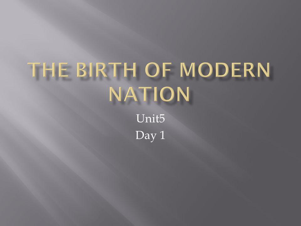 Unit5 Day 1