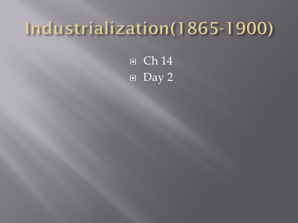  Ch 14  Day 2