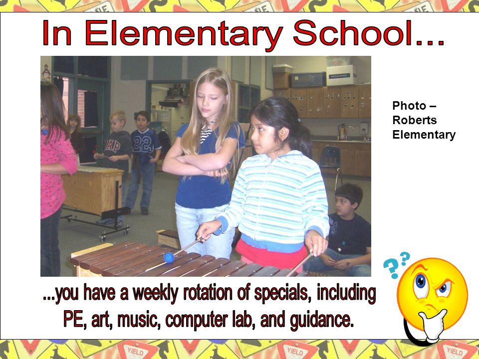 Photo – Roberts Elementary