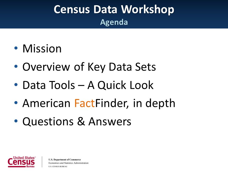 Advantages:  Provide a consistent, guided approach to geographic selection  Provide a quick geographic selection for users not familiar with the Census geographic hierarchy Geography Selection Improvements – Geography Assistant