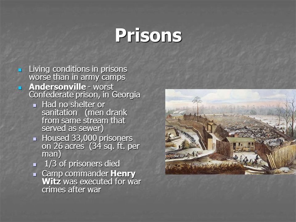 Andersonville Prison Conditions