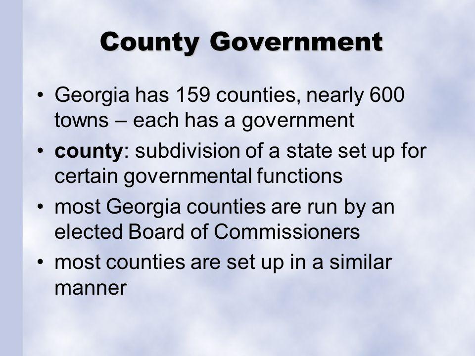 Where do Georgians Live.