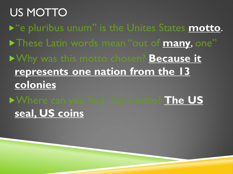 RESPONSIBILITIES OF A CITIZEN  All citizens of the Unites States have responsibilities.