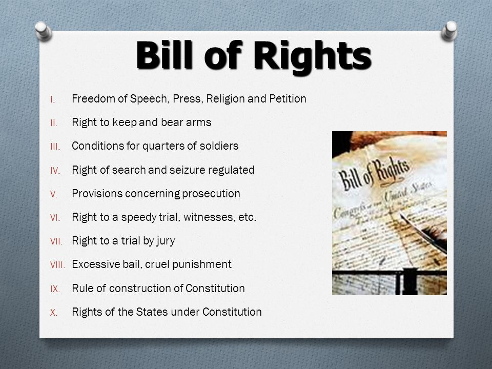 Federalist Papers O Newspaper articles published in New York O Explained reasons why the states should ratify the new US constitution O The promise of the Bill of Rights convinced a majority of voters to support the Constitution.