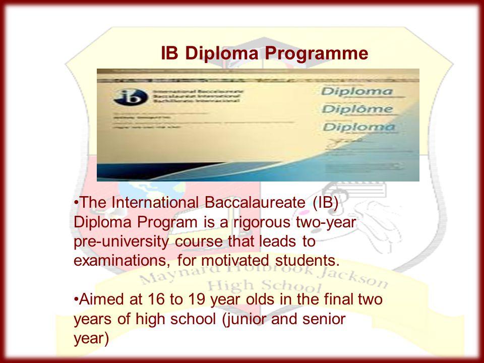 IB Certificates - Universities?