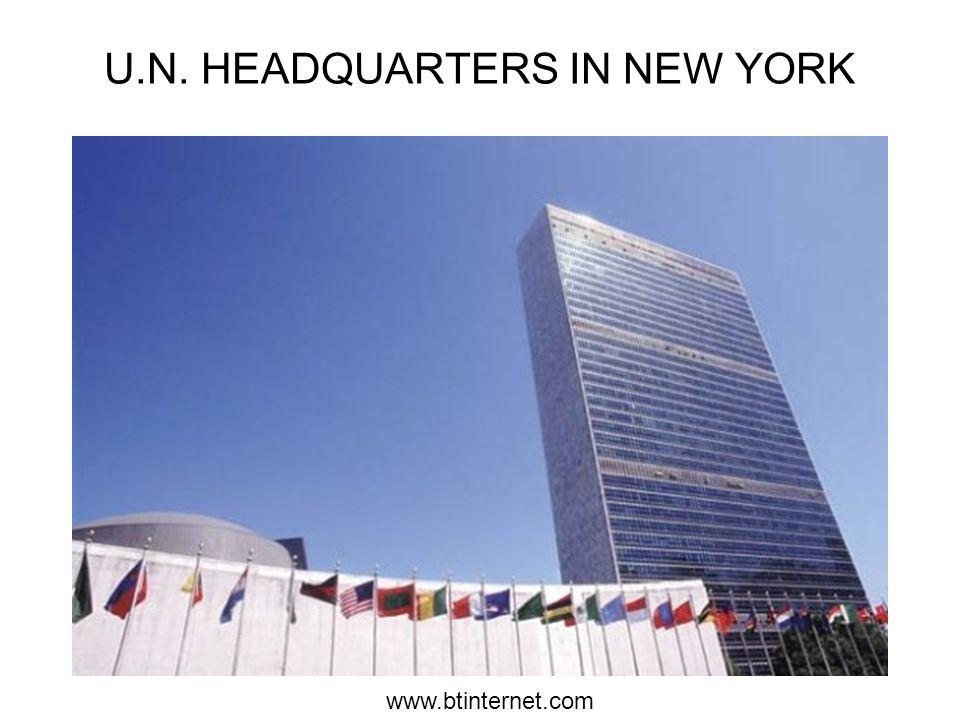 www.btinternet.com U.N. HEADQUARTERS IN NEW YORK