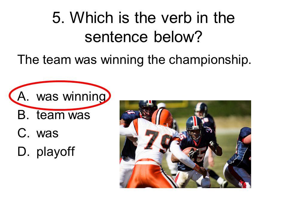 106.What word belongs in the sentence below.