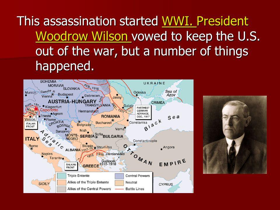 Herbert Hoover was president at the start Herbert Hoover was president at the start Philosophy: We'll make it.