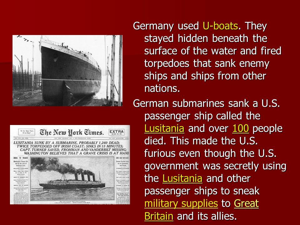Before the U.S.