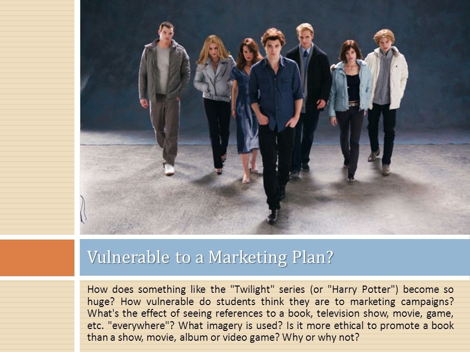 How does something like the Twilight series (or Harry Potter ) become so huge.