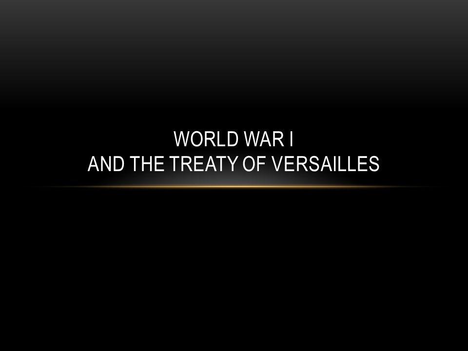 CAUSES OF WORLD WAR I World War I began when Archduke Franz Ferdinand was assassinated by a Serbian, Gavrilo Princip on June 28, 1914.