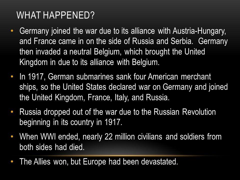 EUROPEAN DEVASTATION