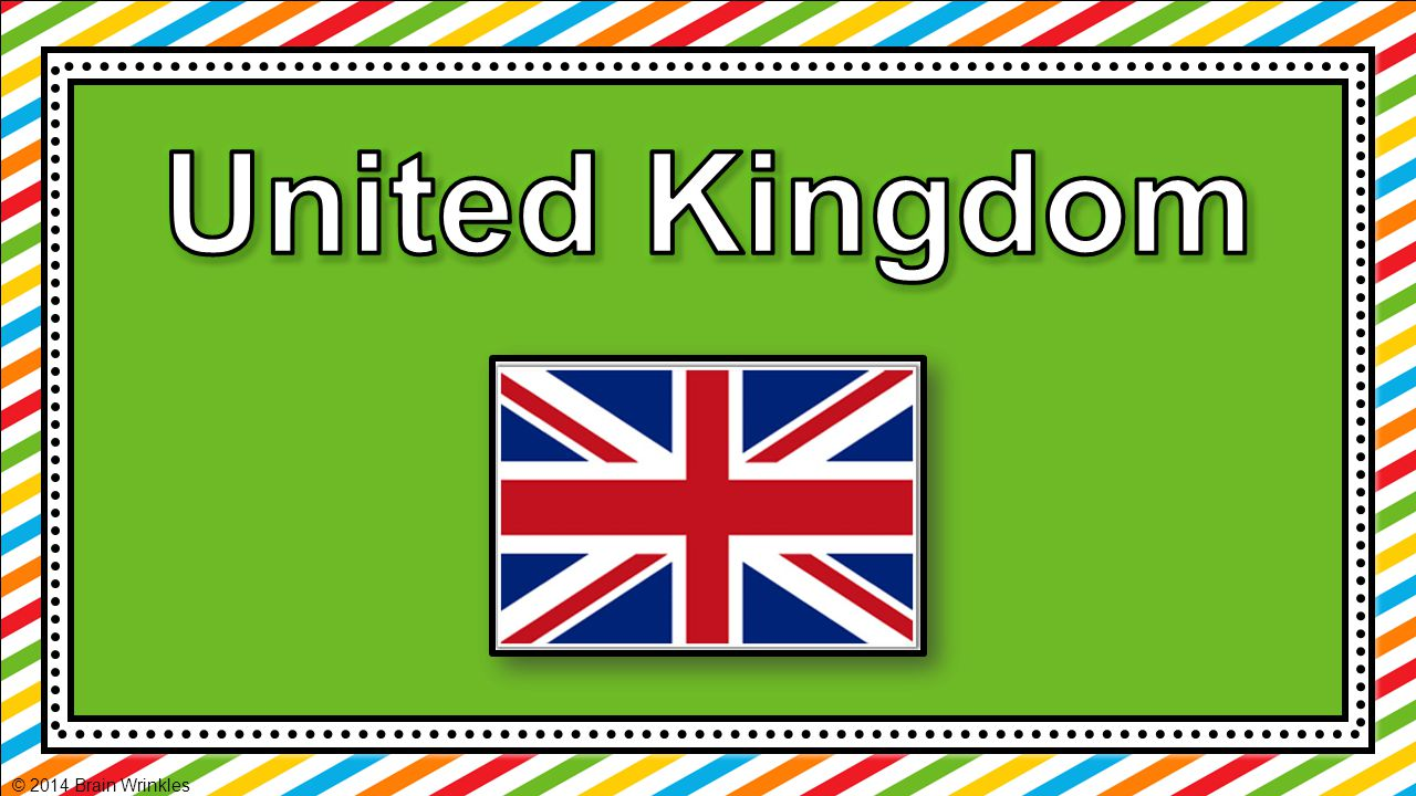 About 60 million people live in the United Kingdom.