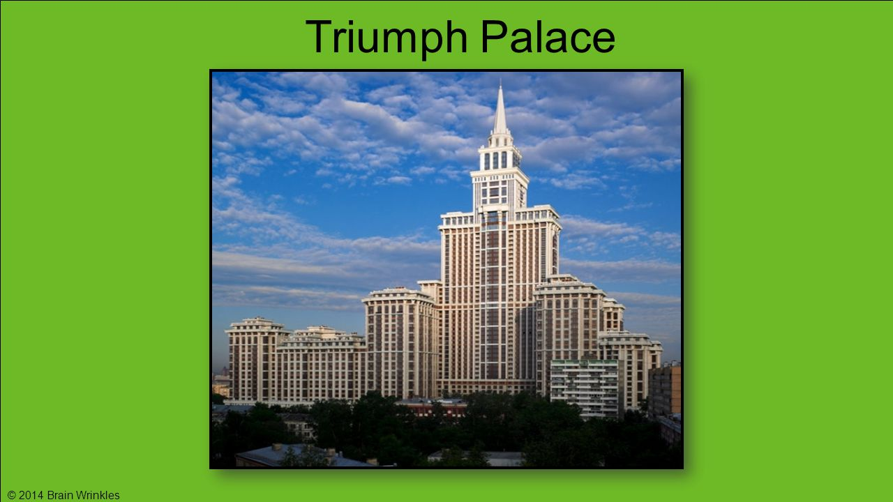 Triumph Palace © 2014 Brain Wrinkles