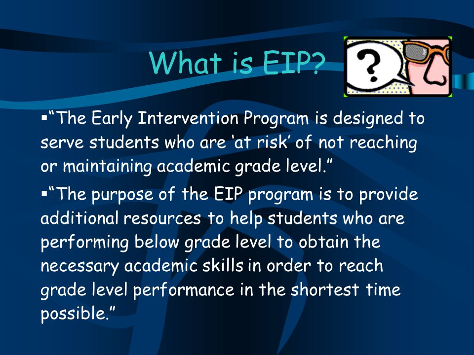 What is EIP.
