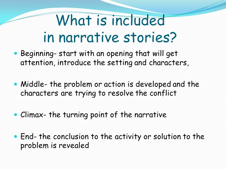 narrative essay starters These narrative journal prompts for middle school explore themes of empathy, loyalty, friendship, respect, and life experience.