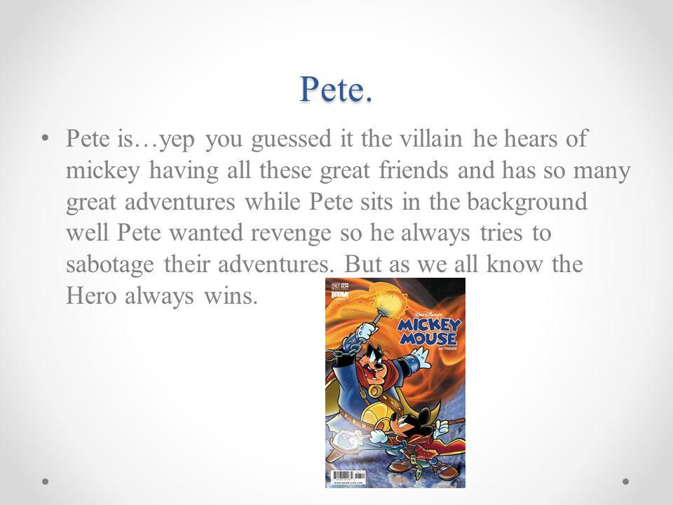 Pete.