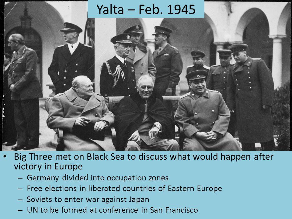 Yalta – Feb.