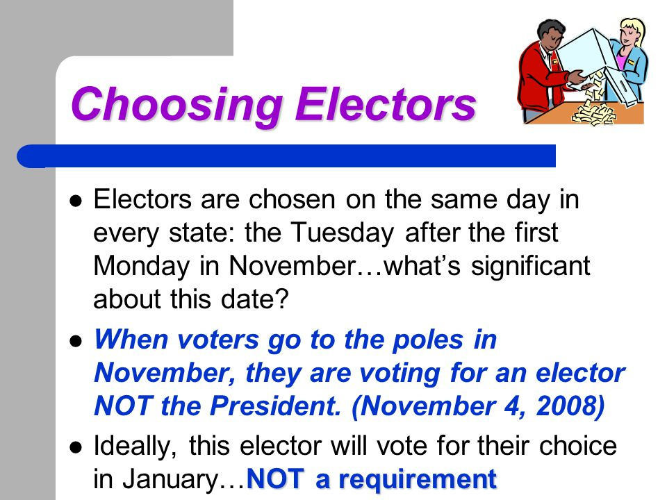 Electoral College Breakdown If you were running which states would you focus on? Why?