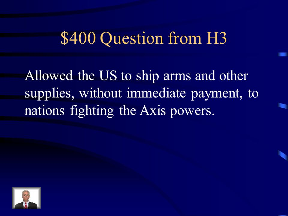 $300 Answer from H3 Mobilization