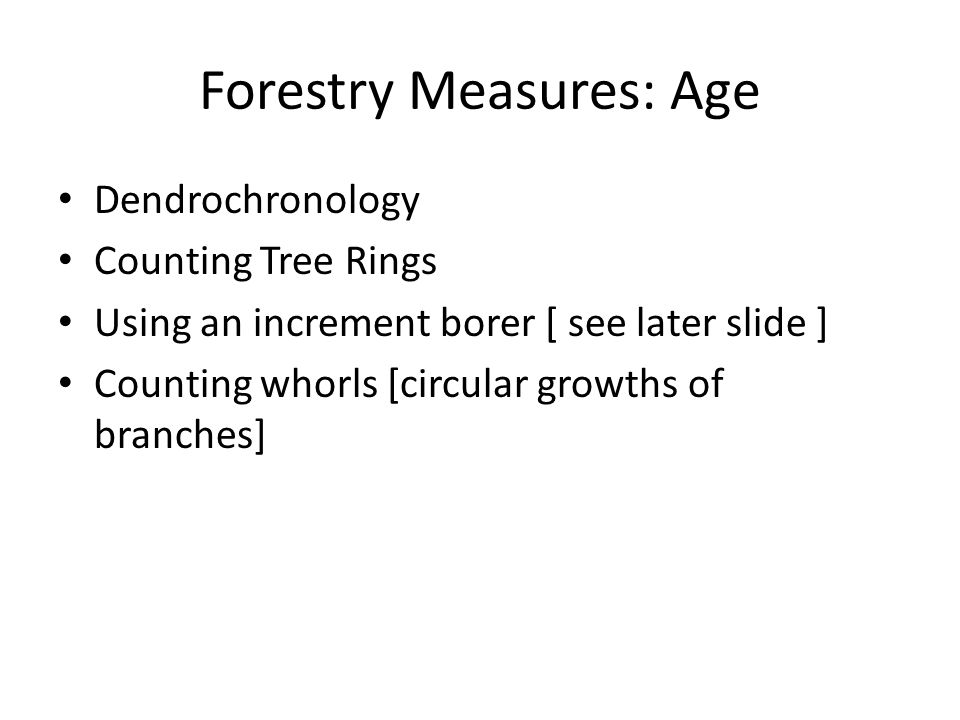 Forestry Measures: Board Feet board foot: a piece of wood containing 144 cubic inches [i.e.
