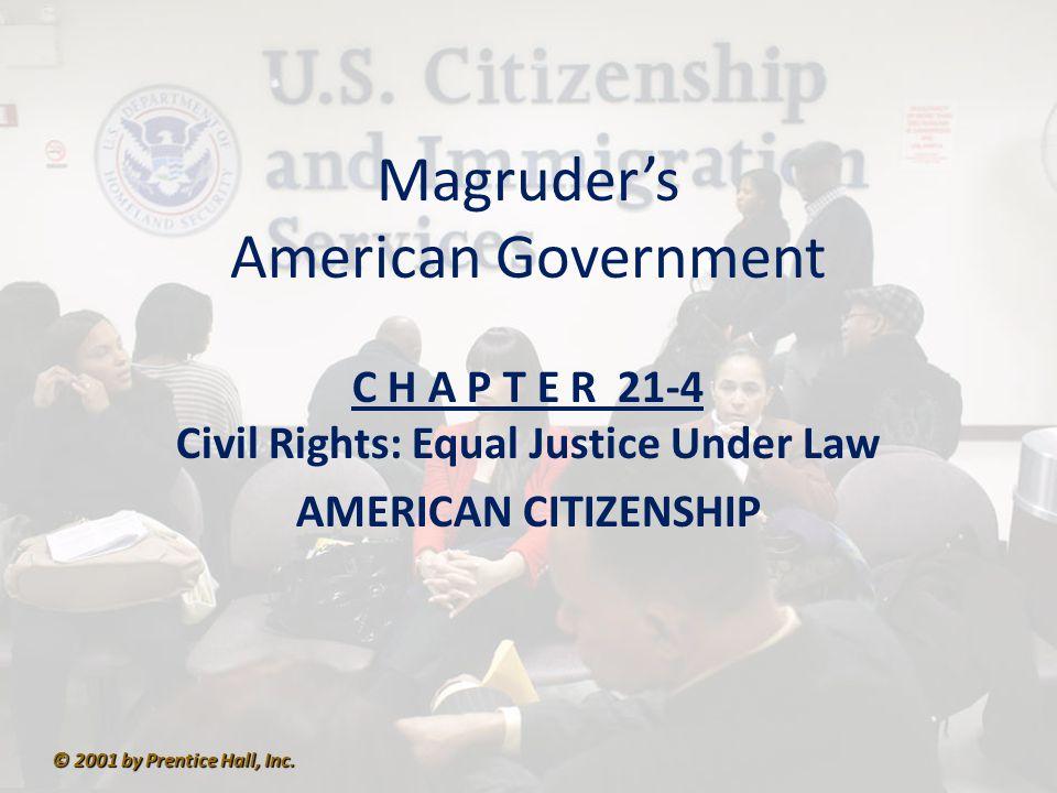 S E C T I O N 4 American Citizenship What questions surround American citizenship.