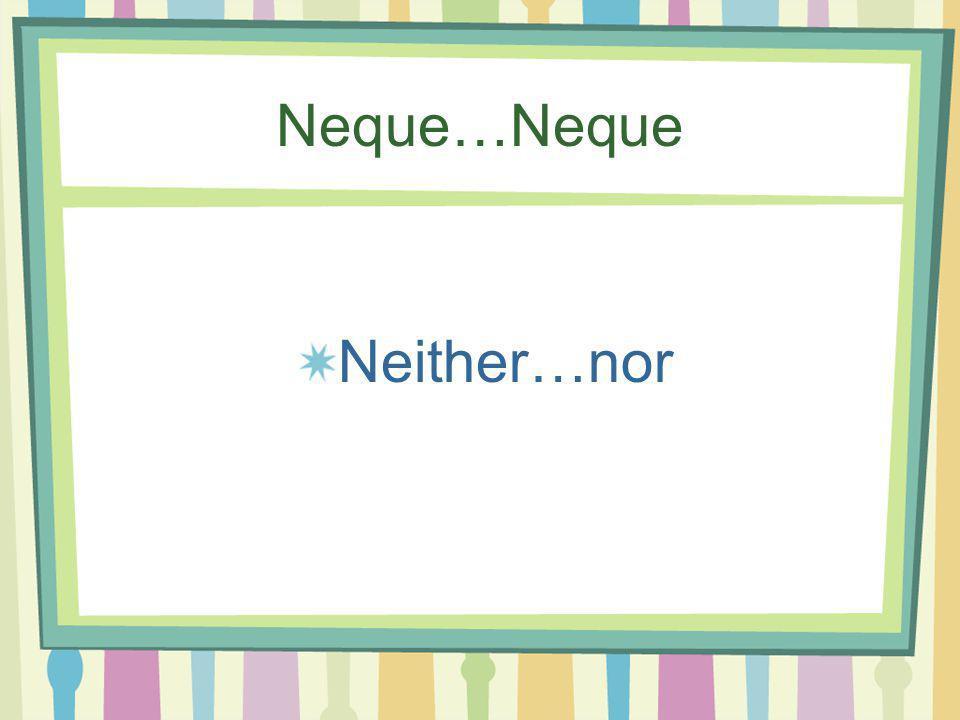 Nihil Nothing