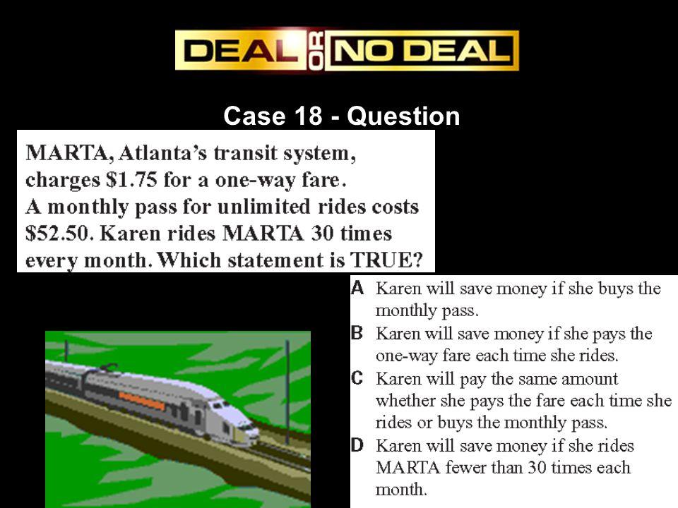 Case 18 - Question