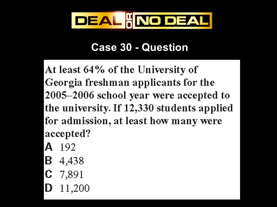 Case 30 - Question