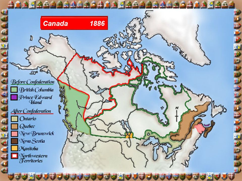 Results of the Railroad: Increased shipment of goods across the country Increased travel from coast to coast Created new provinces & territories Birth of Canadian nationalism before the railroad, most people only thought of themselves as belonging to their province; after they felt as if they were part of one country