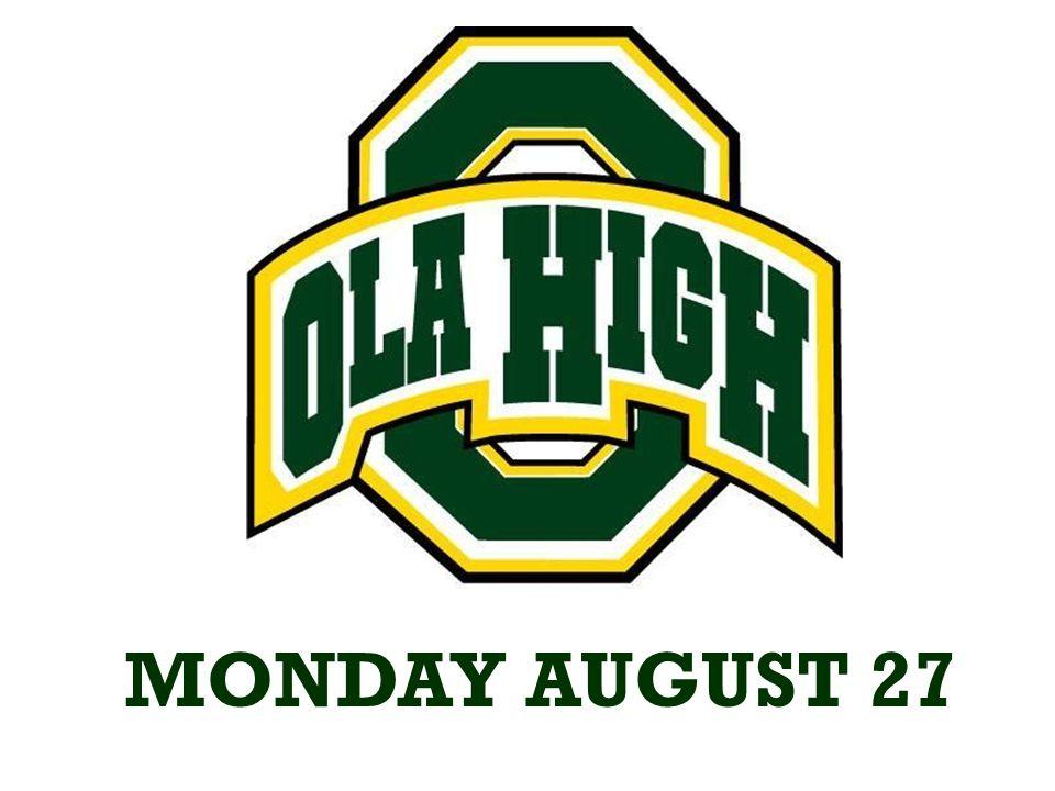 Congratulations to the Ola varsity football team they defeated Woodland 39-0.