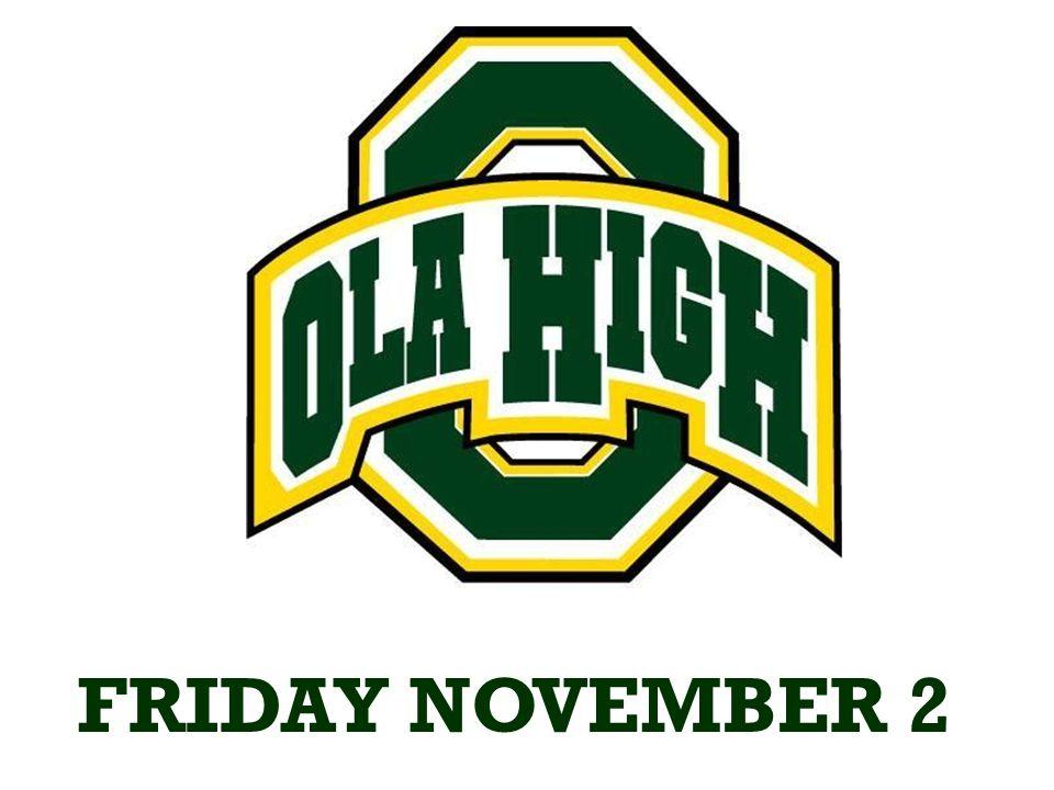 TONIGHT Ola vs Henry County AWAY 7:30