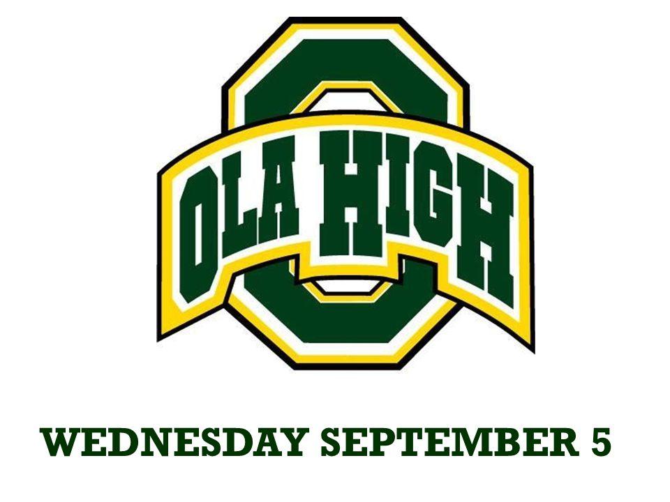 September 10 Ola vs. Union Grove/Eagles Landing AWAY