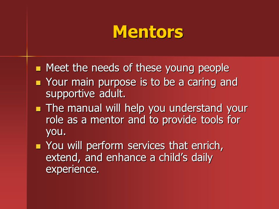 The Mission of Being A Mentor Banks County P.A.W.S.