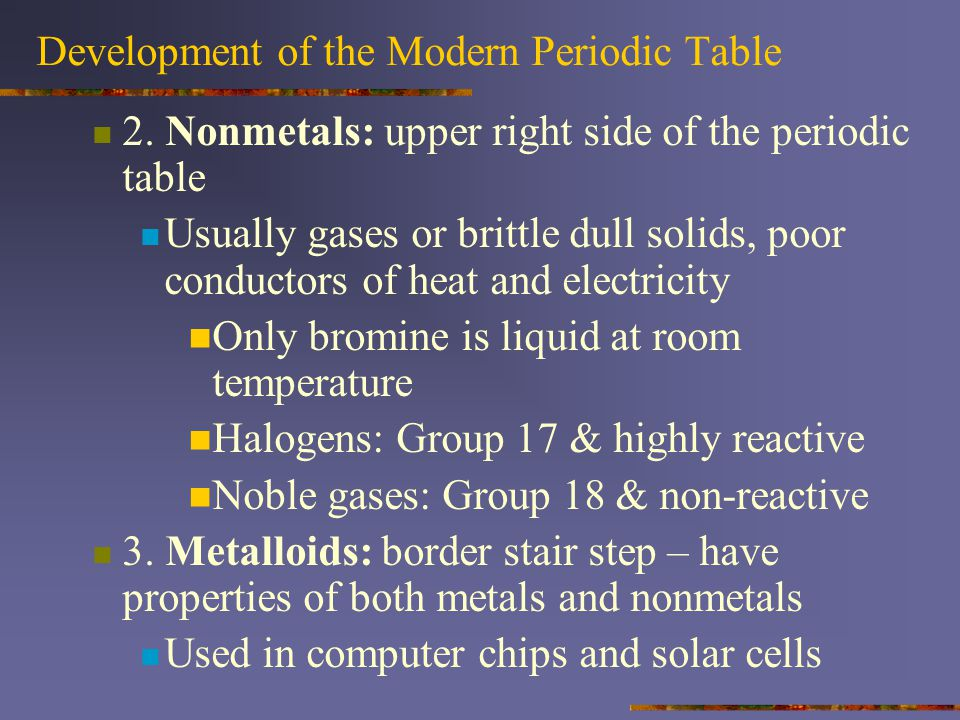Properties of s-Block Elements H is in group 1 because it has 1 valence electron It has metallic and non metallic properties Metal: loses an e - Non-metal: gas, increase reactivity (like halogens) gains an e -