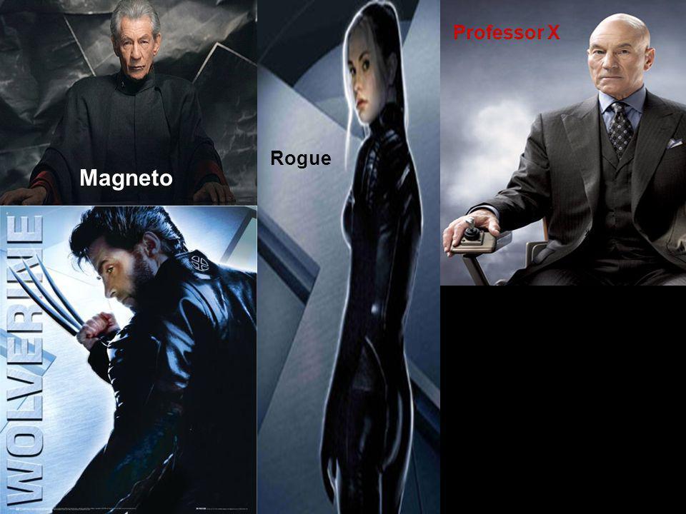 Magneto Rogue Professor X
