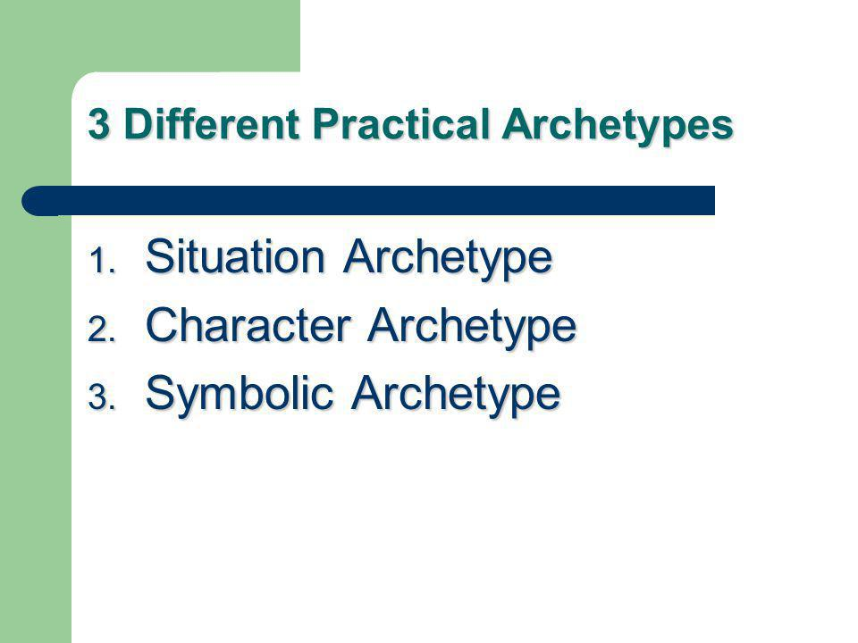 Situation Archetypes The Quest The Quest The Journey The Journey The Task The Task The Initiation The Initiation The Fall The Fall Death and Rebirth Death and Rebirth The Battle between Good & Evil The Battle between Good & Evil
