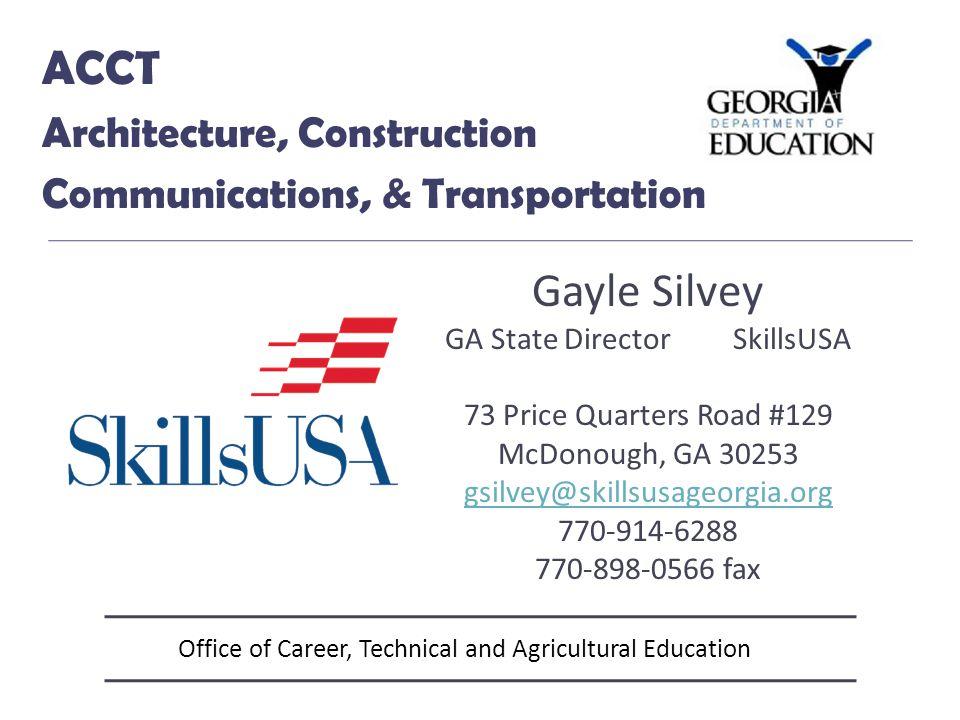 Office of Career, Technical and Agricultural Education BCS Business Education & Computer Science Sarah Heath Program Specialist 404-657-8307 SHeath@doe.k12.ga.us