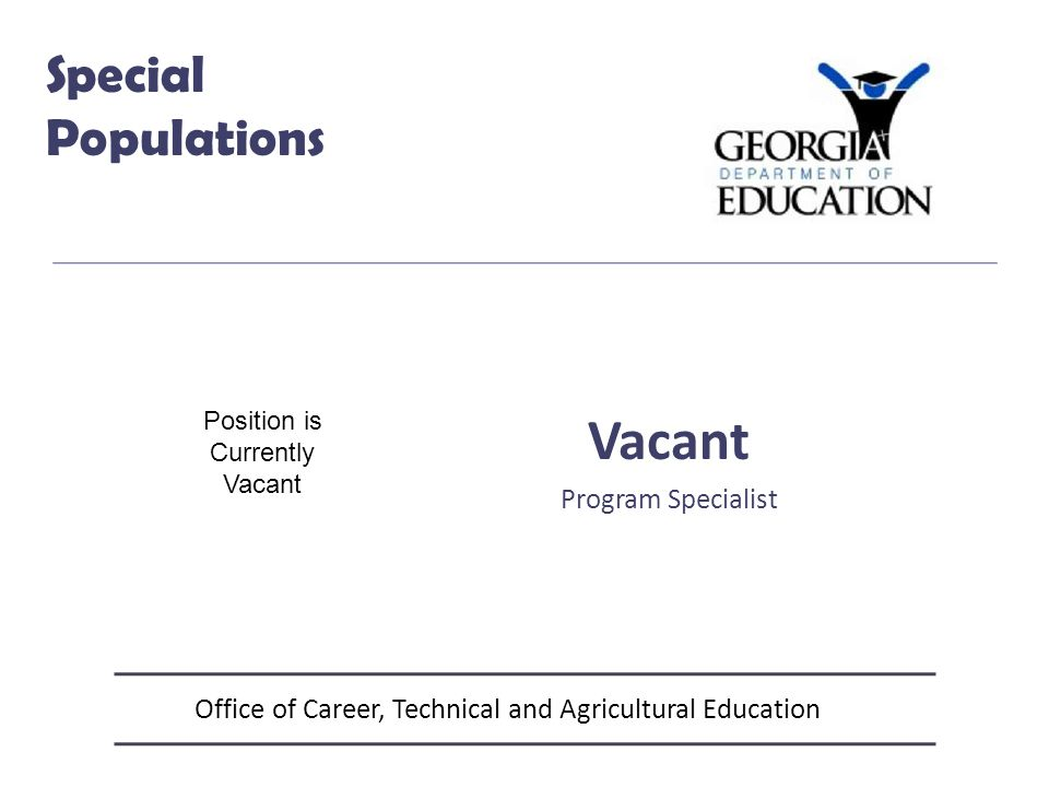 Office of Career, Technical and Agricultural Education CTSO Career & Technical Student Organizations