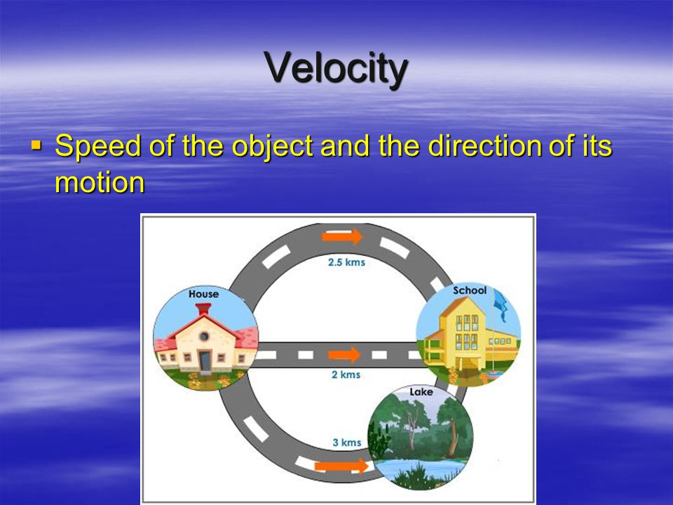Speed  Speed = v –v is for velocity (speed with direction added, traveled 75 mph south)  Distance = d  Time = t
