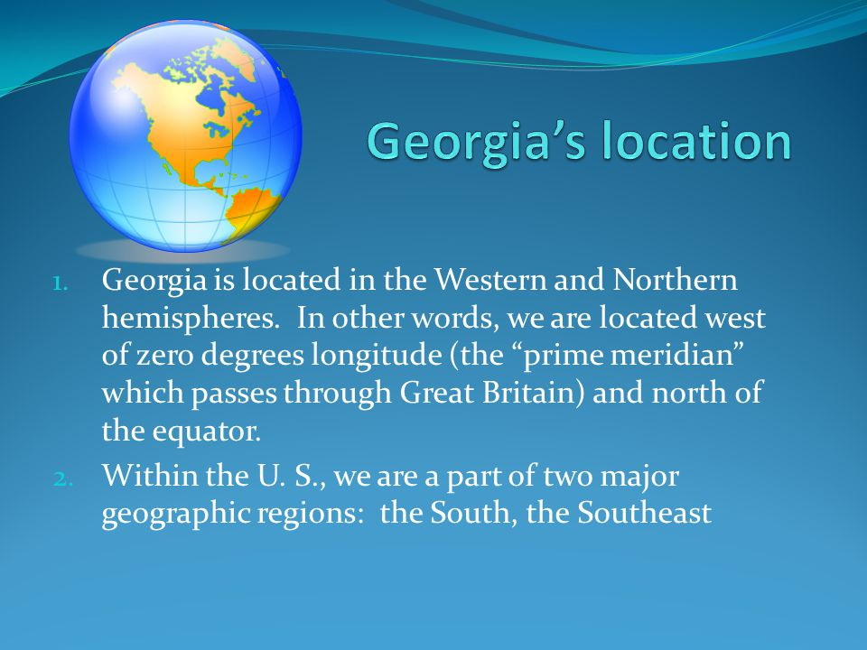 ** It's located on the former shoreline of the Atlantic Ocean.