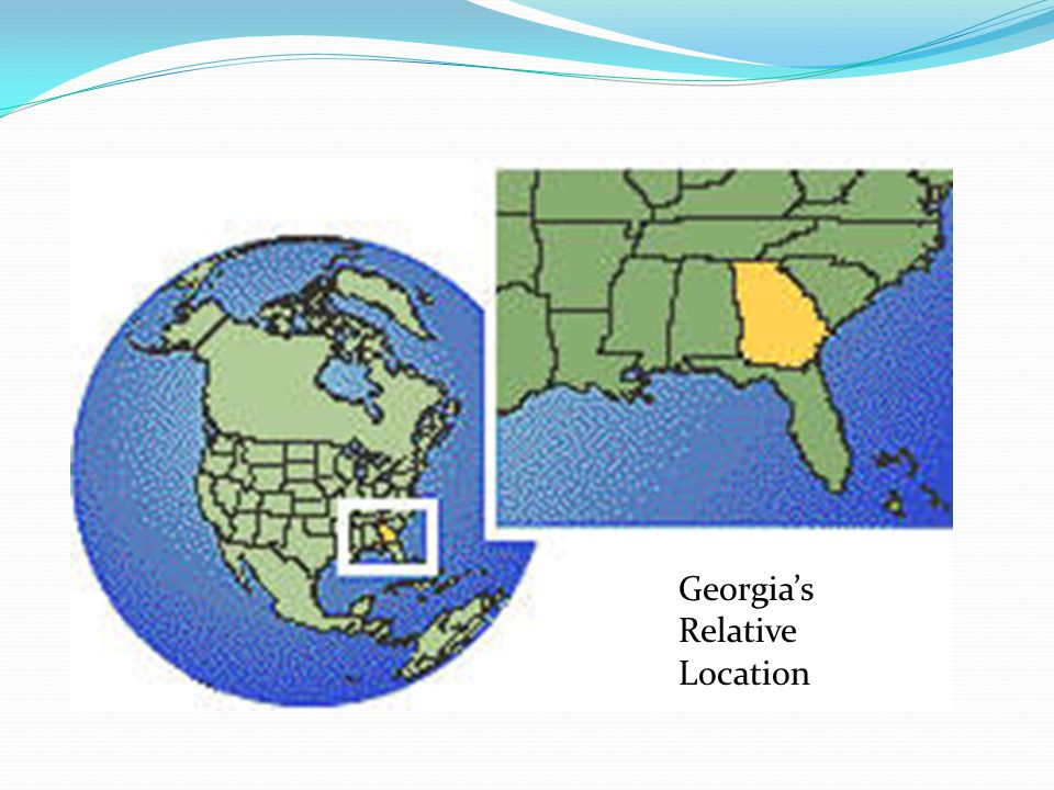 """1. Georgia is located in the ______ and ______ hemispheres. In other words, we are located west of zero degrees longitude (the """"_____ meridian"""" which"""