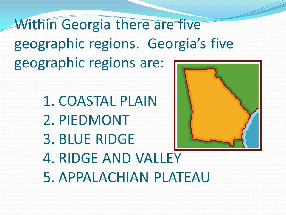 Georgia's Relative Location