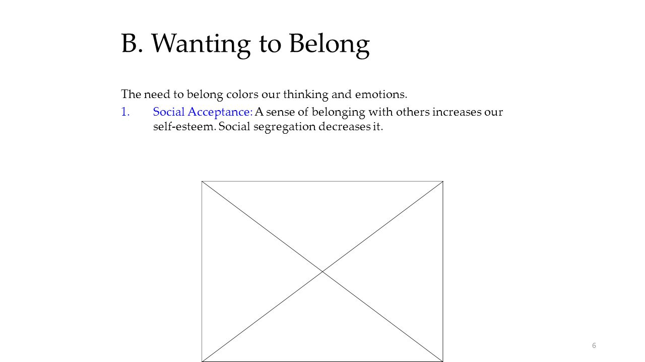 C.Sustaining Relationships 1.We resist breaking social bonds, even bad ones.
