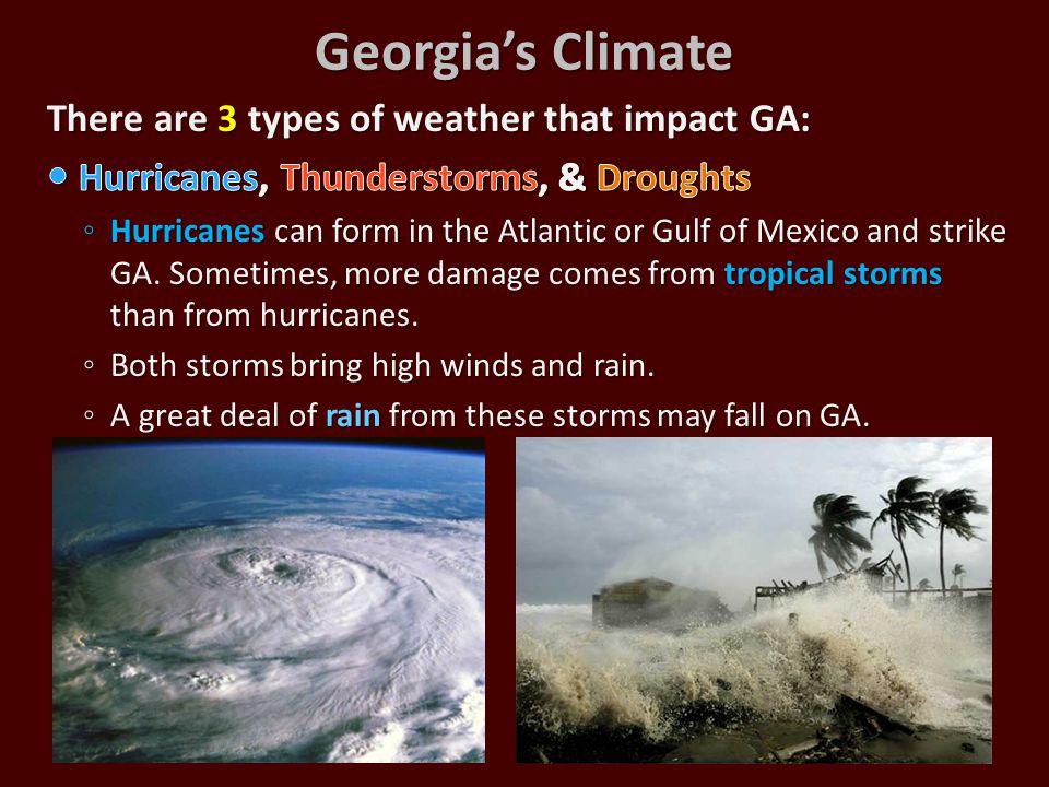 Georgia's Climate