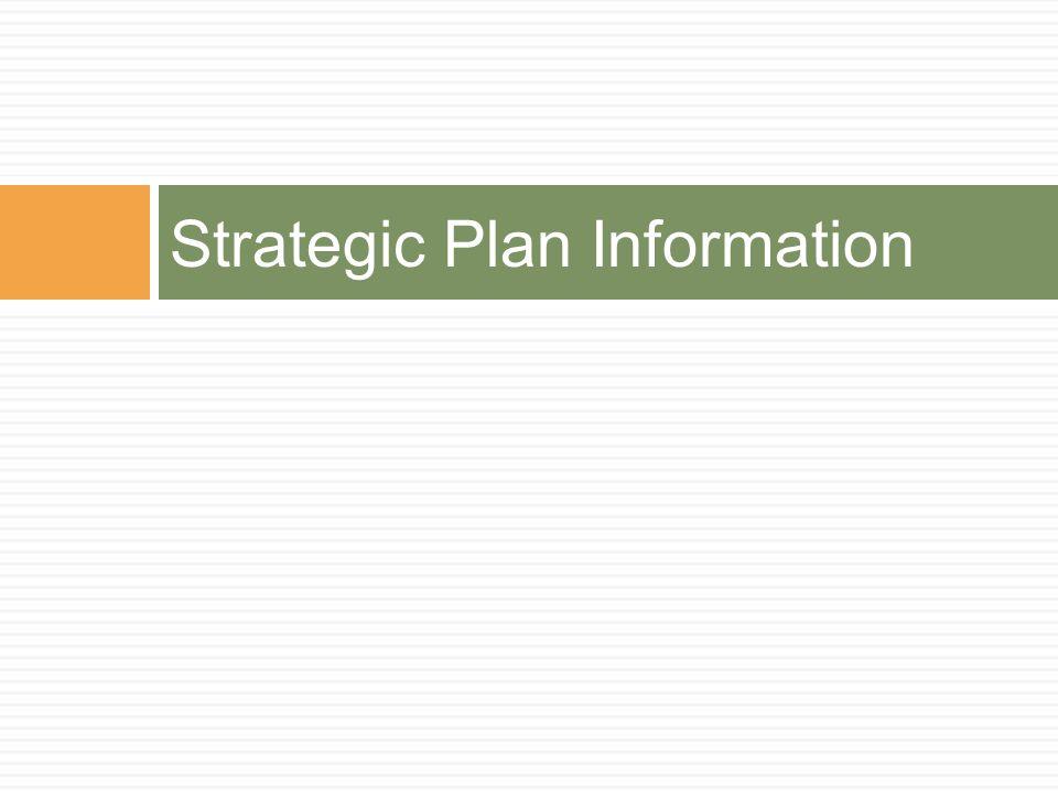 Strategic Plan Information