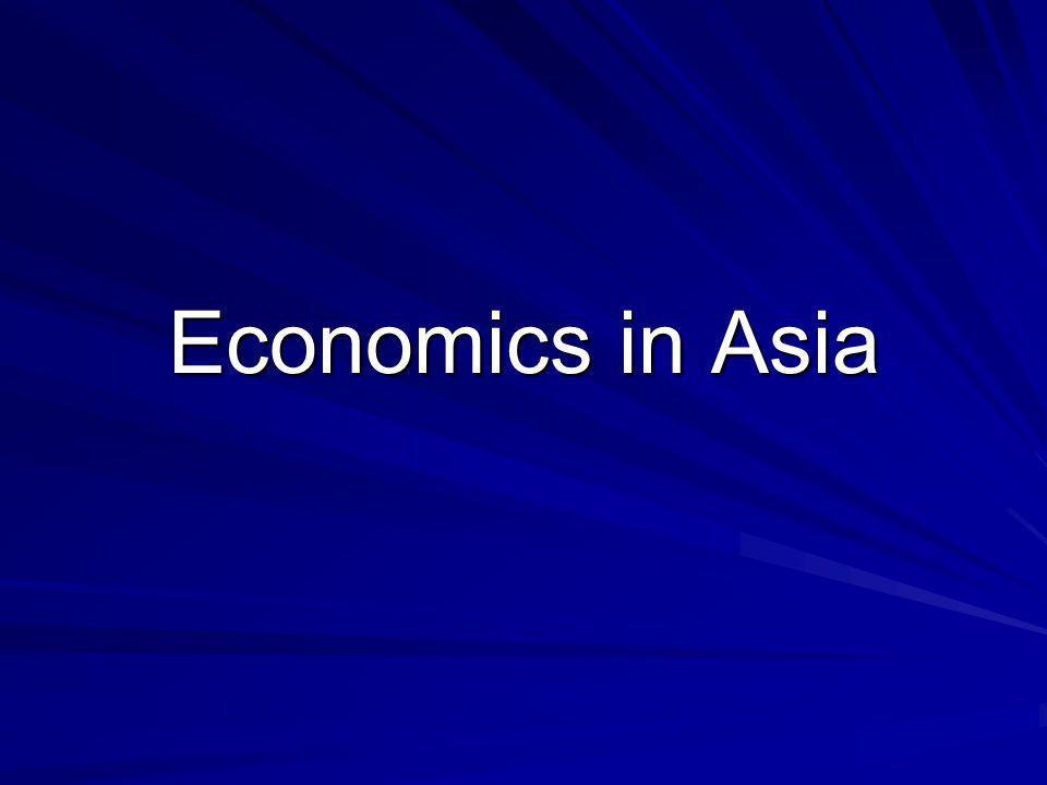 Economics in Asia